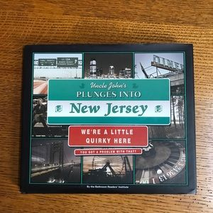 Uncle John's Plunges Into New Jersey Book